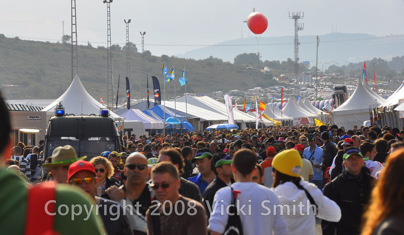 It's WAY more orderly than say, Mugello, but the crowds are really epic