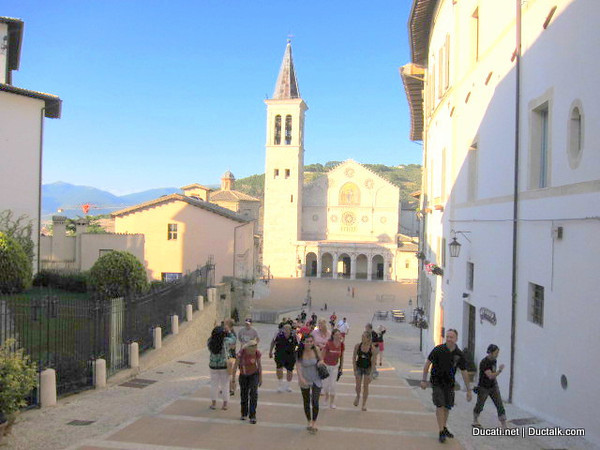 And a group stroll thru Spoleto