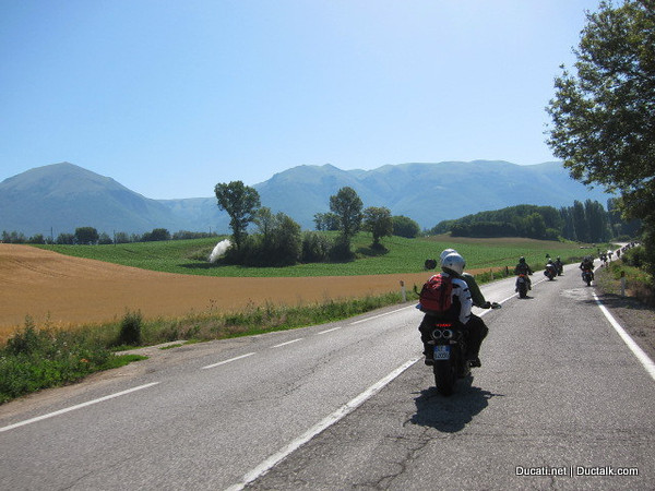 But the lack of traffic in general was a lot more common. Much of the time we had all this loveliness to ourselves
