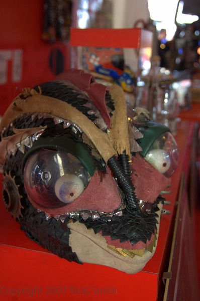 The Lady Ducati DOC has lots of odd stuff like this helmet