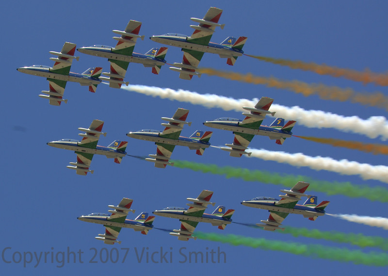 Even the Italian Air Force got in on the act
