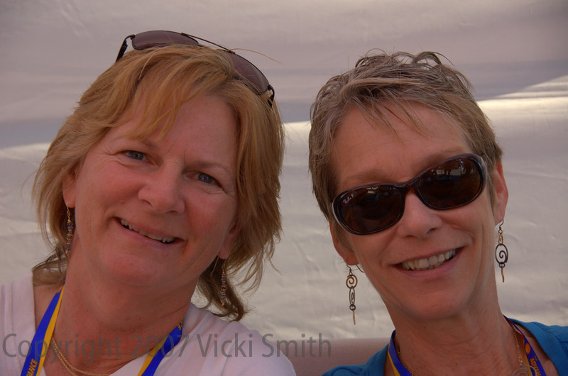 Allyn Schilling and Stepper Neilson, two of the coolest ladies ever born, nobody has to tell Cook and Phil how lucky they are to have them, it's crystal clear they know already