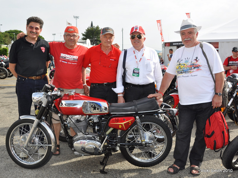 Anything you need to know about Ducati's, my guess is one of these guys can help you