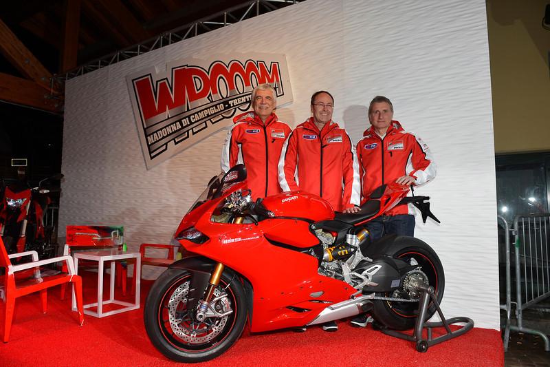 (From left) Gabriele Del Torchio, Bernhard Gobmeier, Paolo Ciabatti