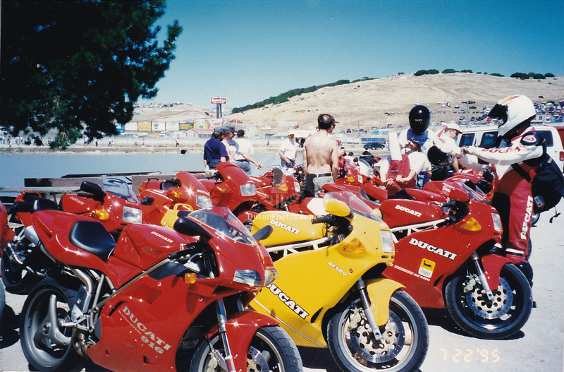 The first Ducati Superleggera. And no less harder to get at the time, or any less coveted