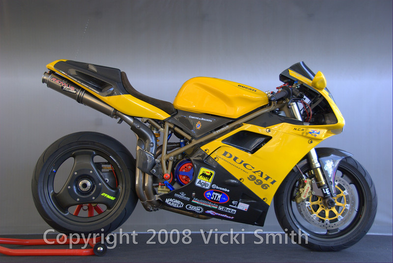 Azreal Rodriguez brings his 1999 996 every year to Daytona. It's a past winner of the DucatiDayDaytona bike show and it was no surprise when Azrael went home with the People's Choice award