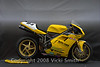 """Chris Boy entered two bikes, this is a 2002 748rs<br /> <br /> ASRA Pro Thunderbike, Factory 748 rs upgraded with 996 rs suspension, Ducati Marchesini16.5 inch wheels. Built for the ASRA racing series and employs a very competitive """"right on the edge"""" of power to weight ratio."""