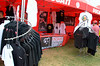 The Ducati area midway included a Ducati owners club display where you could get club wear and raffle tickets for the Ducati-Roc custom guitar being raffled to raise money for charity