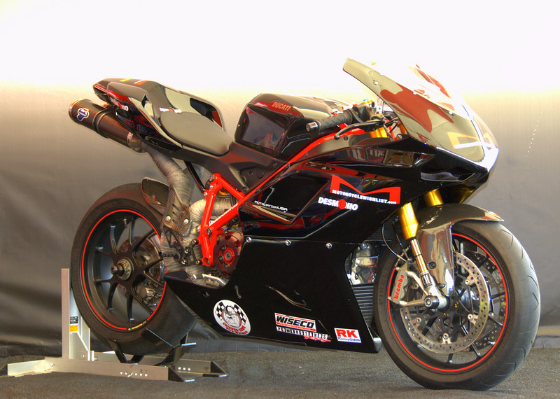 Michael D Smith's 2007 1098S was the winner of the Casey Stoner Award.