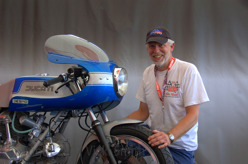William Swenson and his winning entry