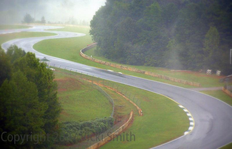 Road Atlanta Friday morning. It's one of the prettiest tracks in the USA
