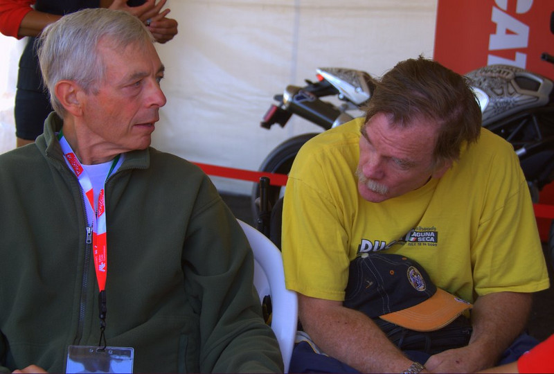 Phil Schilling and Paul Ritter. Two of the few Americans that have experienced the top step of a Superbike podium