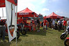 Lot's of DOC clubs come out and help make the weekend more fun. On the left is Ducati ROC DOC, Ducs Unlimited DOC is in the middle and Desmohio DOC on the right. Quite a few Ducati.net members as well. If you were at Mid Ohio this weekend and had a smiling Ducatisti check you into hospitality or hand you a kickstand pad for your bike you likely have a DOC member to thank.