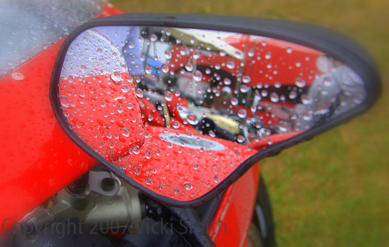 """Sunday dawned and the weather report was the talk of the day.  As Ralph Shaheen put it """"The Superbike Concorso might be the only compitition that takes place at Mid Ohio today"""" (They don't race at MO in the rain)"""