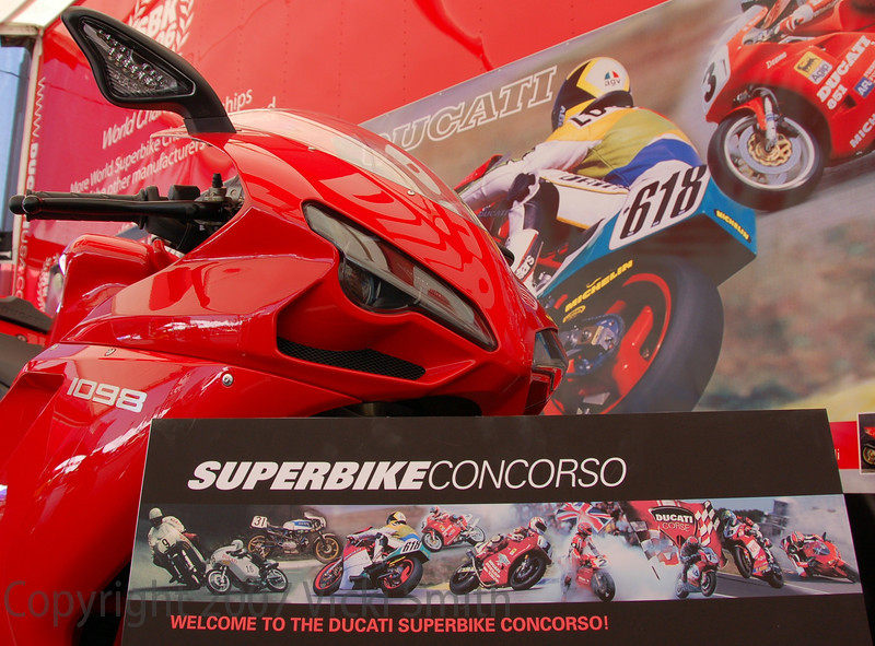 Next stop, Laguna Seca Ducati Island July 20, 21, 22 where this year the Superbike Concorso will have it's own display tent on the island.
