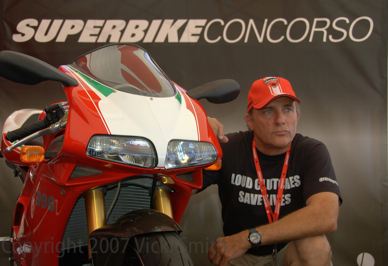 Bill Dickinson and his 996S