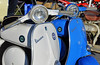 """One Vespa SS90 small frame Dummy Tank""""would be unusual. Two is a photo oppertunity"""
