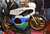 The sign on this ultra desirable and rare Morbidelli say's Don't Touch, not for sale