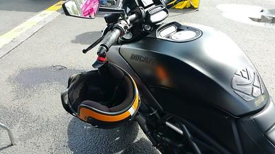 Item 4032 on a Ducati Diavel