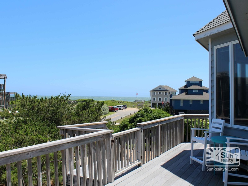 Ocean Views from Deck