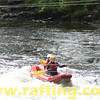 River Duckies are inflatable 2-man rafts shaped like kayaks - tons of fun! Duckie rafting on the River Tay with Splash.