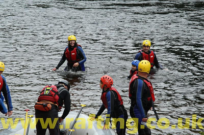 River Duckies on the River Tay from Aberfeldy to Grandtully, Perthshire with Splash. http://rafting.co.uk