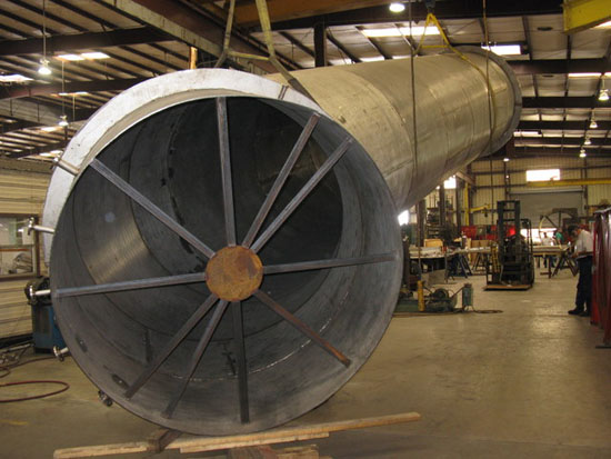 stainless steel duct work