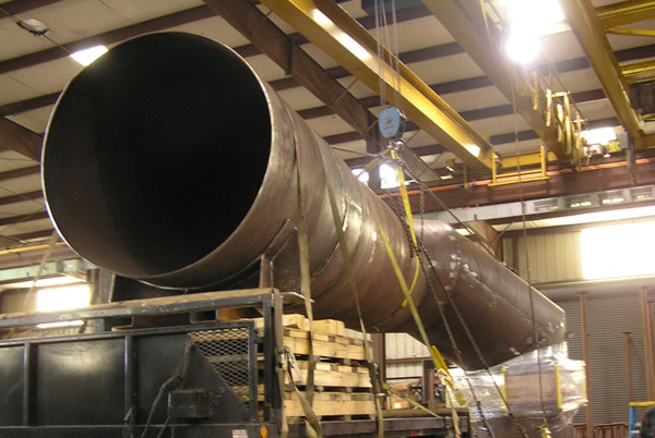 """60"""" Ductwork for a Sulfuric Acid Plant in Texas (#84906 - 06/07/2006)"""