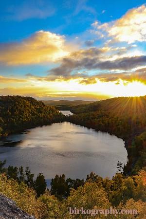 Sunset at Bear Lake, MN