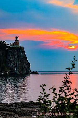 Sunrise at Split Rock lighthouse, MN