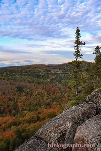 Fall colors from Lutsen, MN