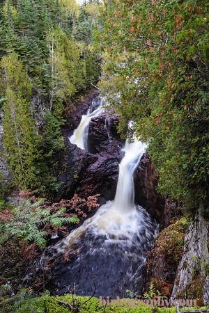 Devils Kettle Falls in Judge C.R. Magney State Park, MN