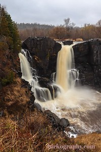 High falls at Grand Portage State Park, MN