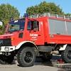 Roepnummer: Florian Aachen 14 GW TECH-01<br /> Soort voertuig: Gerätewagen<br /> Kenteken: AC-8373<br /> Merk: Mercedes-Benz Unimog U1300L<br /> Opbouw: Wackenhut<br /> Bouwjaar: 1989 / In dienst: 07-1990
