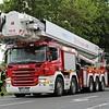 Soort voertuig: Teleskopmastbühne 90 mtr.<br /> Kenteken: BM WF 270<br /> Merk: Scania P420 5-assig<br /> Opbouw: Rosenbauer / Bronto-Skylift<br /> Bouwjaar: 2008<br /> Opm.: warmtebeeldcamera + breedbeeldcamera in korf geïnstalleerd.<br /> Standplaats: Werkfeuerwehr RWE Neurath