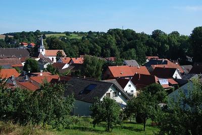 Tussenstop Odenwald zomer 2009