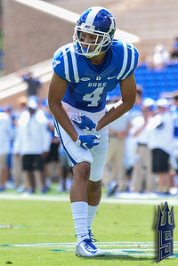 Johnell Barnes, WR / Duke Blue Devils / Photo by Chris Summerville