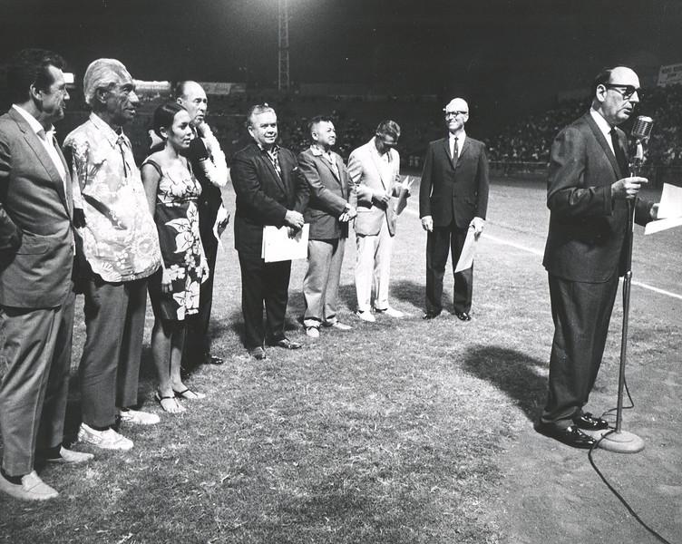 1950s Old Honolulu Stadium Baseball Game