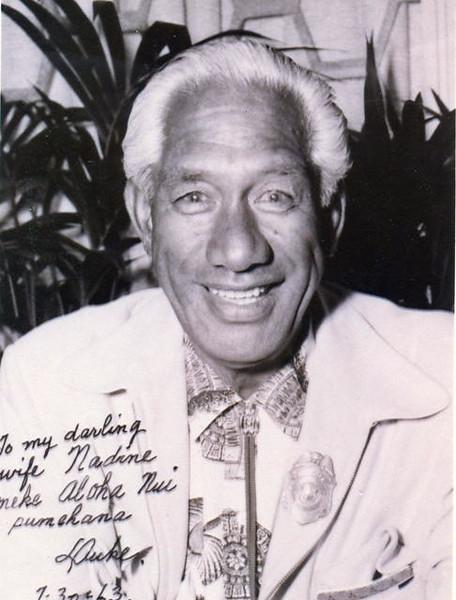 1963 Duke Kahanamoku