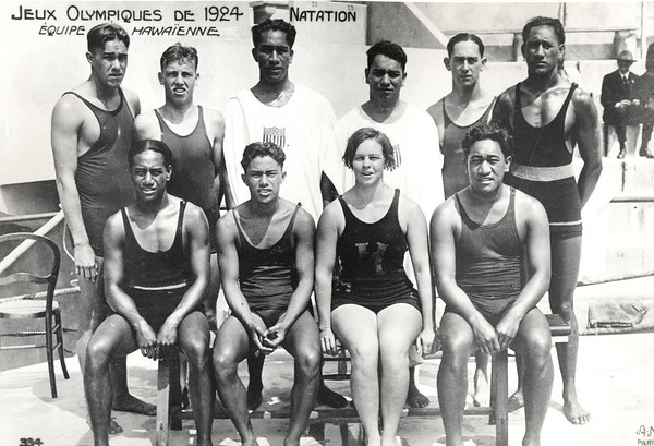 1924 Olympic Swimmers