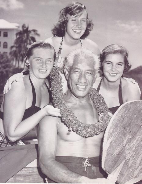 1950 Duke Kahanamoku 60th Birthday