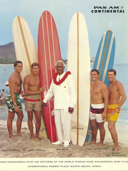 1960s Duke Kahanamoku Surf Team