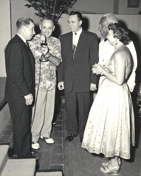 1950s Duke and Nadine Kahanamoku