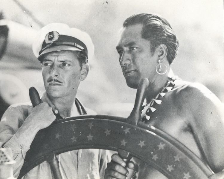 1929 Duke Kahanamoku and Ronald Coleman