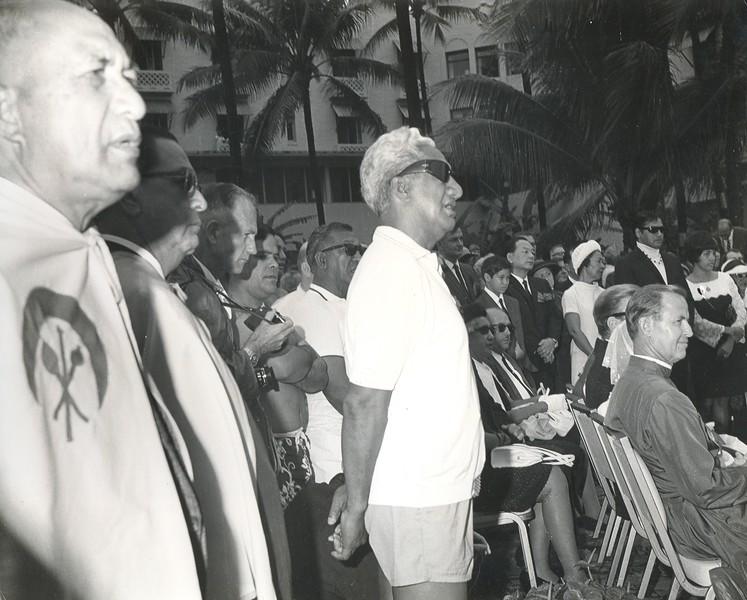 1968 Duke Kahanamoku Funeral