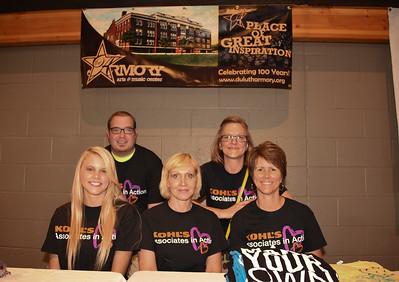 Volunteers from Kohl's