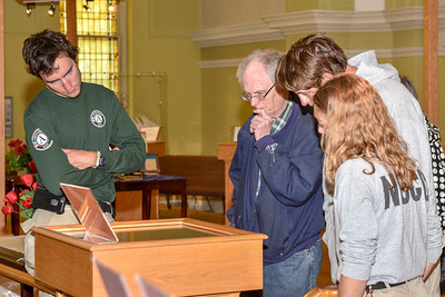 The opening of the William Pagel Archives Bob Dylan Exhibit @ Karpeles Manuscript Library Museum