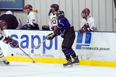 Duluth Junior Gold vs. Anoka 2-01-2008