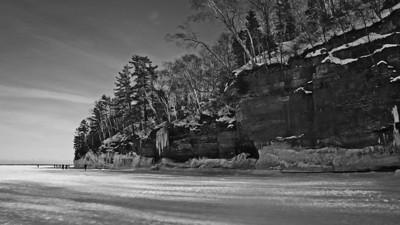 Cliffs On Lake Superior