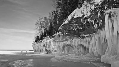 Cliffs, Lake Superior